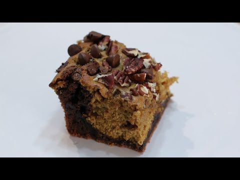 How to Make Pumpkin Brownies | Easy Homemade Pumpkin Brownie Recipe