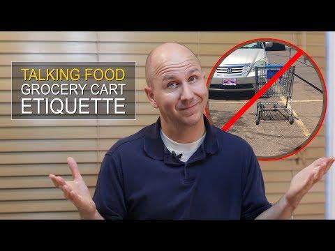 Vlog Talking Food Episode 1: Grocery Cart Etiquette
