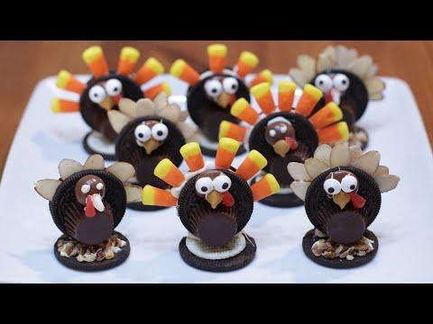 How to Make Oreo Turkeys | Easy Oreo Turkey Treats