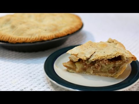 How to Make Apple Pie - Homemade Apple Pie Recipe with Flaky Crust