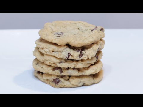 How to Make Eggless Chocolate Chip Cookies | Easy Cookie Recipe Without Eggs