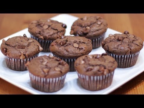 How to Make Chocolate Banana Muffins | Easy Chocolate Chip Muffin Recipe
