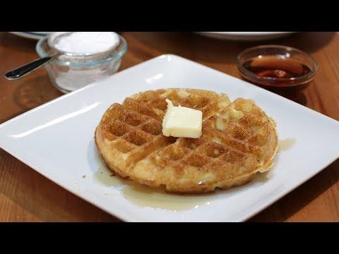 How to Make Waffles | Jackie Kennedy Amazing Homemade Waffle Recipe