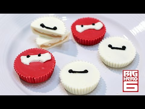 How to Make Big Hero 6 Baymax Peanut Butter Cups