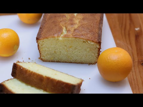 How to Make Orange Cake | Easy Orange Cake Recipe