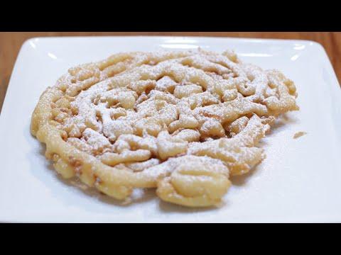 How to Make Funnel Cakes | Easy Homemade Funnel Cake Recipe