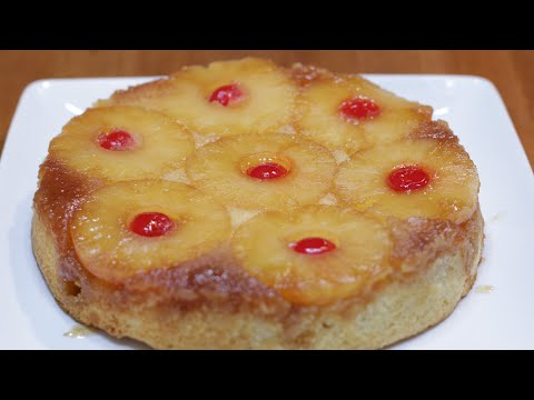How to Make Pineapple Upside Down Cake | Easy Recipe