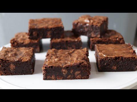 How to Make Fudgy Brownies | Amazing Homemade Brownie Recipe