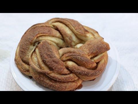 How to Make Cinnamon Roll Twist Bread | Easy Braided Cinnamon Roll Bread Recipe