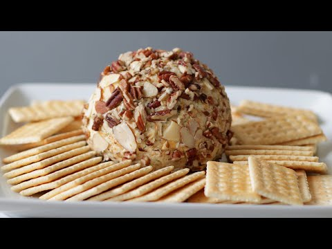 How to Make a Cheese Ball | Easy Homemade Cheese Ball recipe