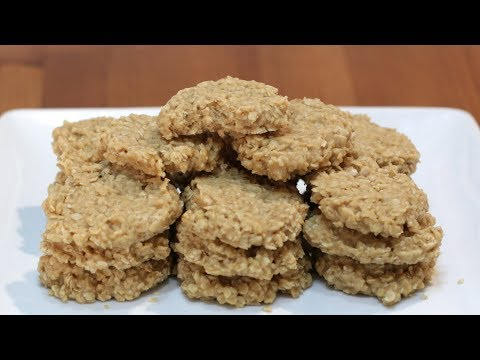How to Make No Bake Peanut Butter Cookies
