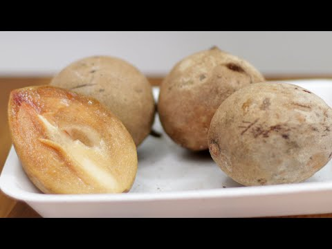 How to Eat Sapodilla | What Does Sapodilla Chico Sapote Taste Like?