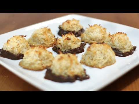 How to Make Coconut Macaroons | Easy Coconut Macaroons Recipe | Gluten Free Cookie