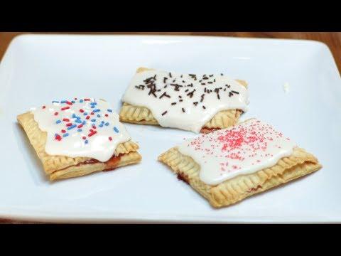 How to Make Pop Tarts | Easy Homemade Pop Tarts Recipe