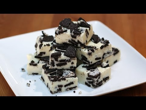 How to Make Cookies and Cream Fudge | Easy Fudge Recipe