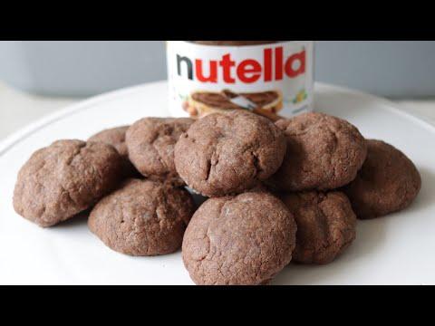 How to Make Nutella Cookies | 3 Ingredient Nutella Cookie Recipe