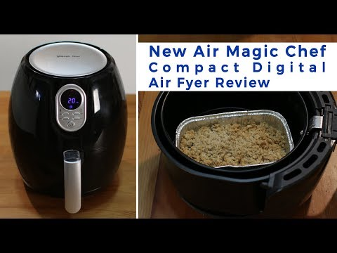 NewAir Magic Chef Compact Digital Air Fryer | Product Review Episode 21