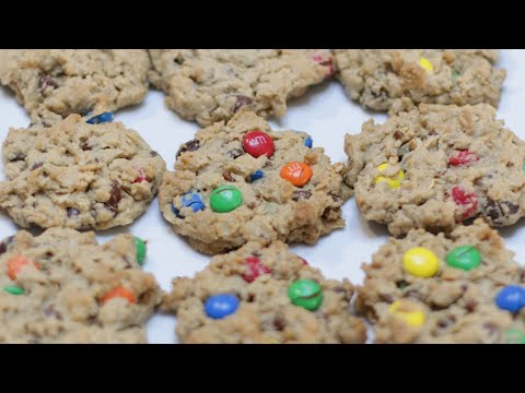 How to make Monster Cookies | Homemade Monster Cookies Recipe