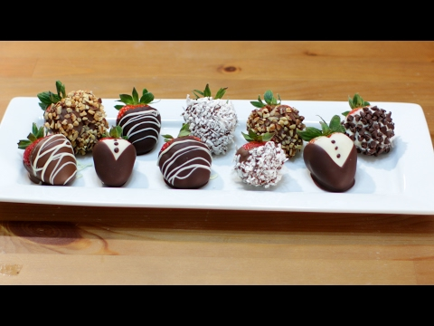 How to make Chocolate Covered Strawberries | Easy Chocolate Covered Strawberries Recipe