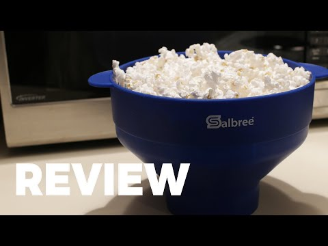 Salbree Microwave Popcorn Popper Review | How to Use