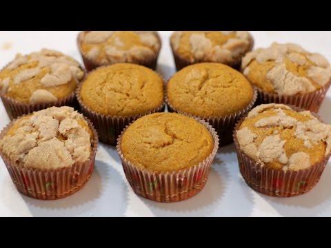 How to Make Muffins - Pumpkin Muffins Recipe