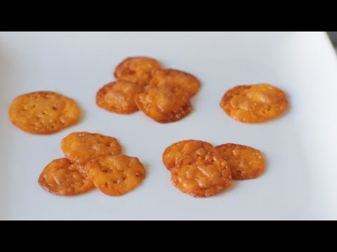 Homemade Cheez-Its TikTok Recipe | Keto Gluten Free Cheese Crisps