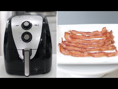 How to Cook Bacon in Air Fryer | Easy Air Fryer Bacon