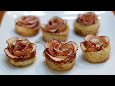 How to Make Apple Roses | Easy Apple Rose Pastry Recipe