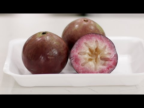 How to Eat a Star Apple | What Does Star Apple Taste Like?
