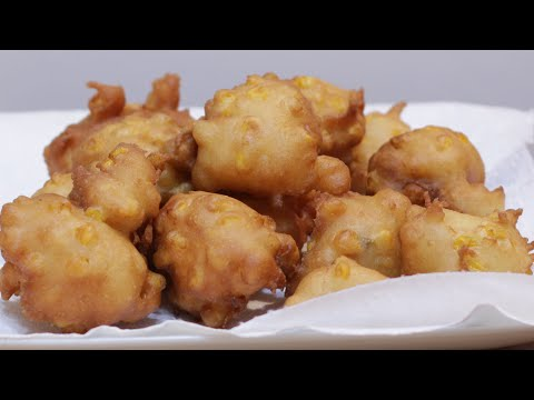 How to Make Corn Fritters | Easy Homemade Corn Fritter Recipe