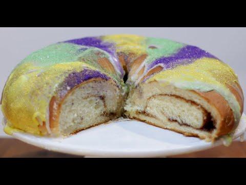 How to make King Cake | Easy Mardi Gras King Cake Recipe