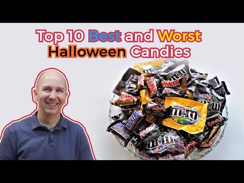 Top 10 Best and Worst Halloween Candy | Favorite Halloween Candy