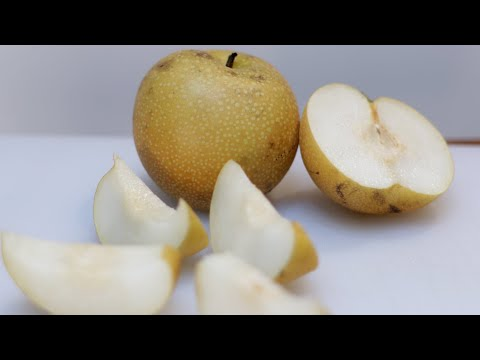 How to Eat an Asian Pear | What does an Asian Pear Taste Like