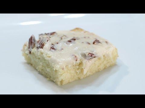 How To Make White Texas Sheet Cake | Easy Sheet Cake Recipe