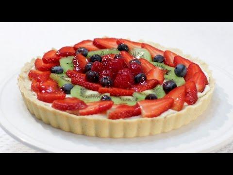 How to Make a Fruit Tart | Easy Fruit Tart Recipe