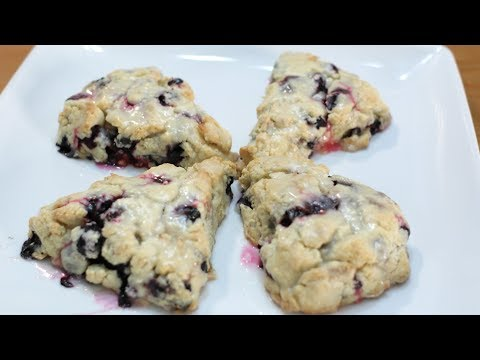 How to make scones | Lemon and Blueberry Scones Recipe