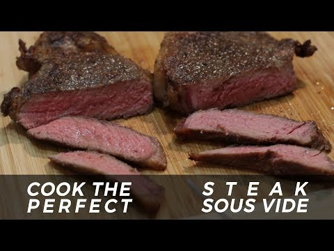 How to Sous Vide Steak | Perfect Steak | In The Kitchen With Matt