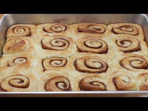 Amazing No Knead Cinnamon Rolls Recipe | How to Make Cinnamon Rolls with cream cheese frosting