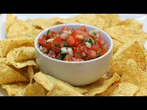 How to Make Pico de Gallo   Easy Amazing Homemade Salsa Recipe