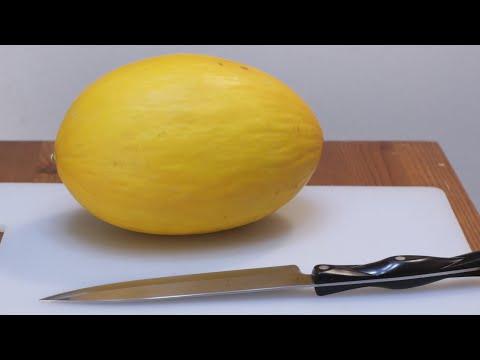 How to Eat Canary Melon | Taste Test