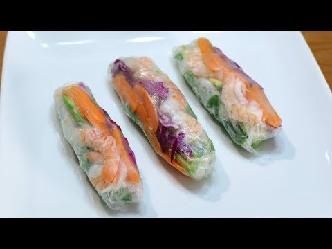 How to Make Spring Rolls | Easy Spring Roll Recipe