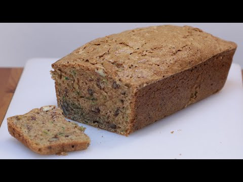 How to Make Zucchini Bread | Easy Amazing Homemade Zucchini Bread Recipe