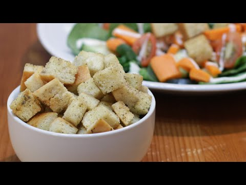 How to Make Croutons | Easy Homemade Croutons Recipe