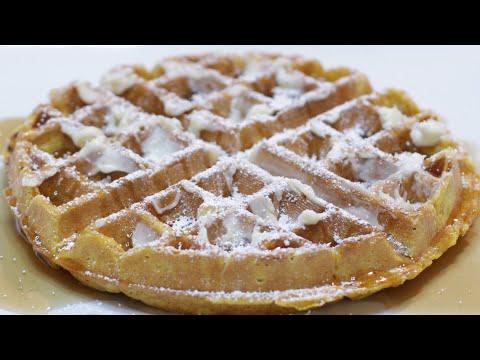 How to Make Pumpkin Waffles | Easy Homemade Pumpkin Waffle Recipe