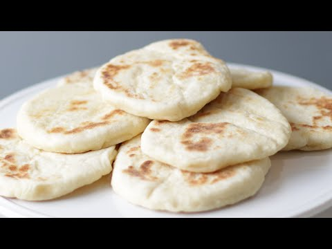 How to Make Flatbread Without Yeast | 2 Ingredient Flatbread Recipe