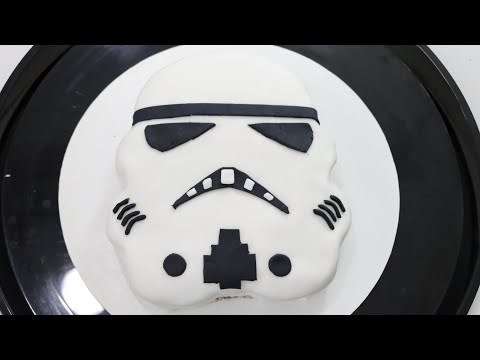 How to Make a Star Wars Stormtrooper Cake   In The Kitchen With Matt