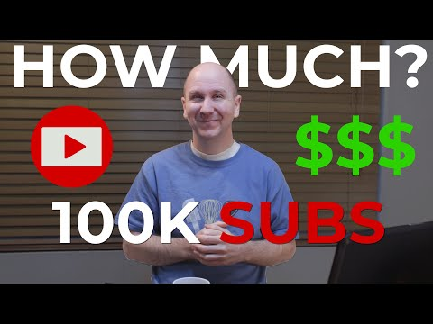 How much money do YouTubers with 100k subs make?