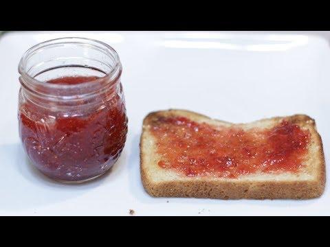 How to Make Strawberry Jam | Easy 3 Ingredient Strawberry Jam Recipe No Pectin