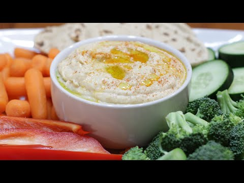How to Make Hummus | Easy Homemade Hummus Recipe