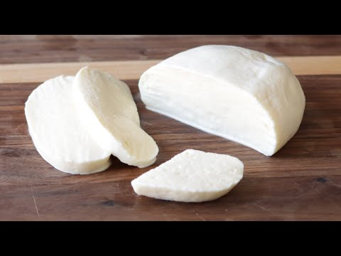 How to Make Mozzarella Cheese 2 Ingredients Without Rennet   Homemade Cheese Recipe